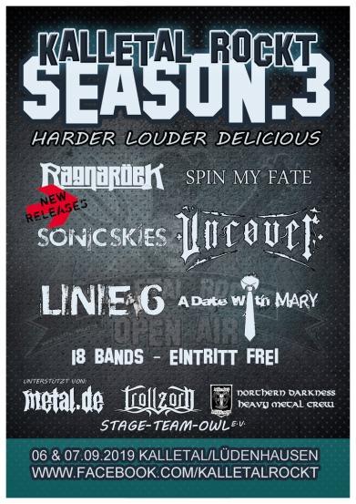 Kalletal Rockt Festival Line-Up
