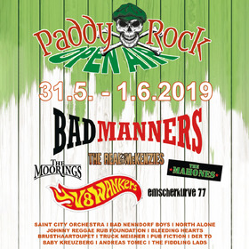 Paddy Rock Flyer mit Line-up