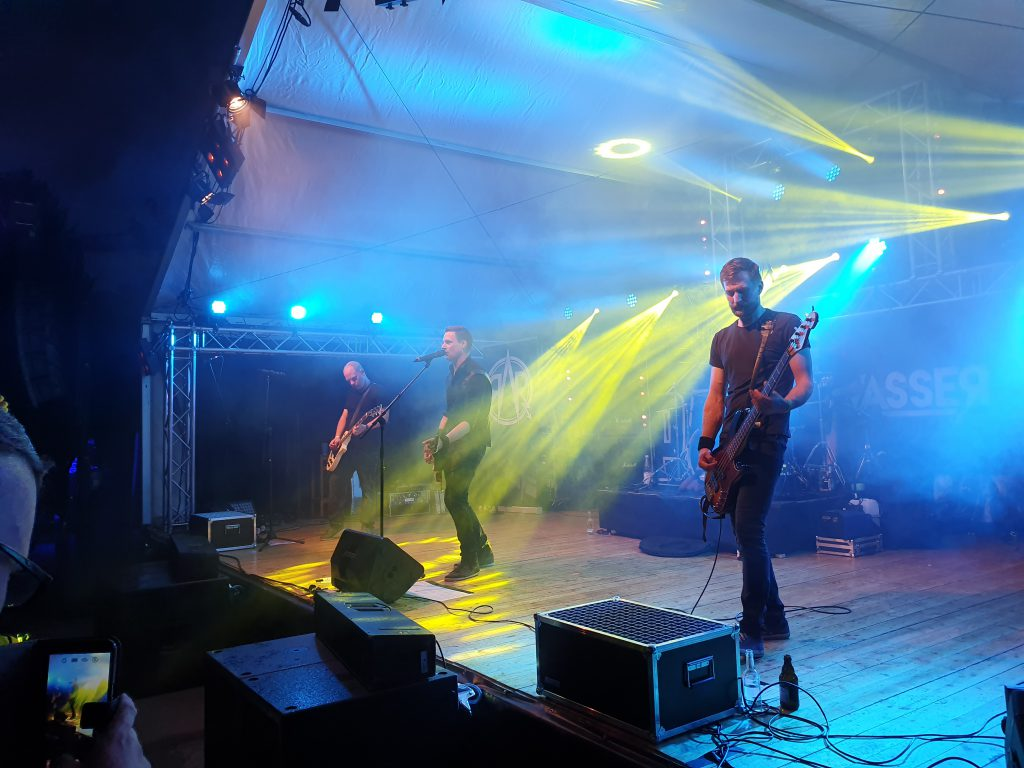 Band Rockwasser bei Rock am Köterberg 2019