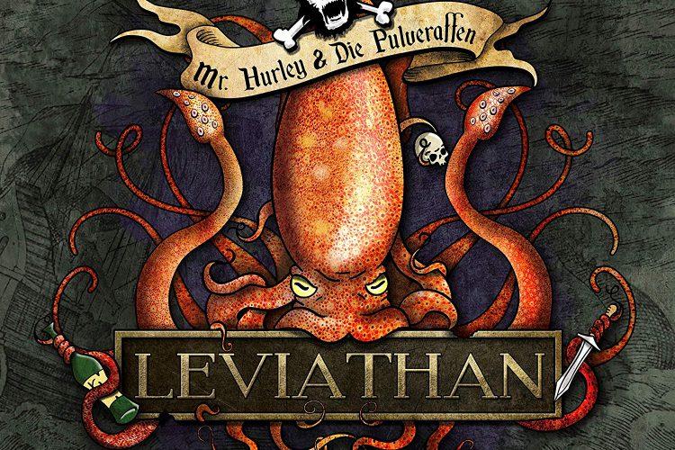 Mr. Hurley & Die Pulveraffen - Leviathan Albumcover