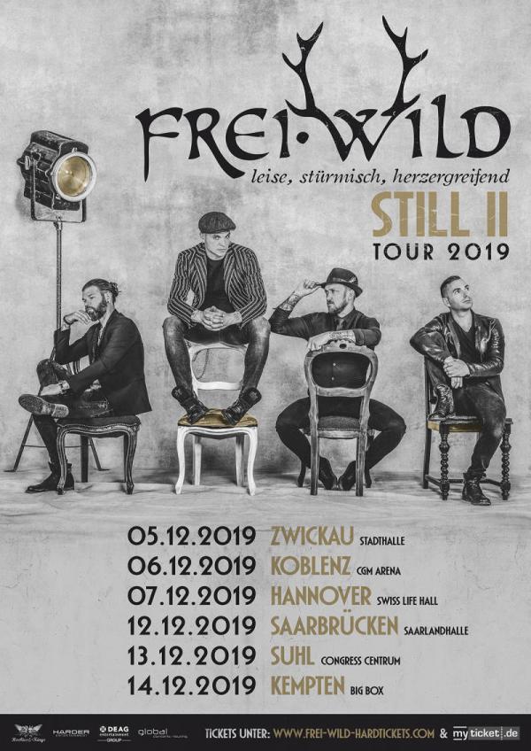 Frei.Wild - Still 2 -Tourplakat