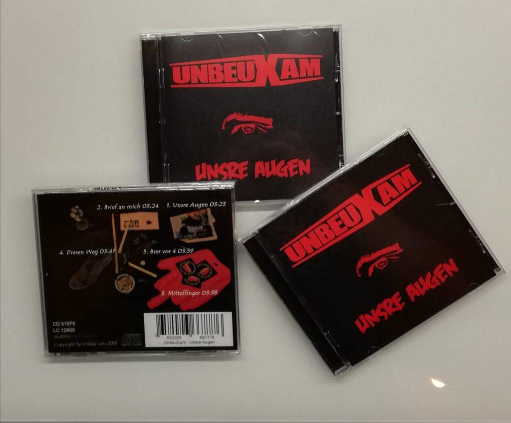 Albumcover Unsre Augen von unbeuxam