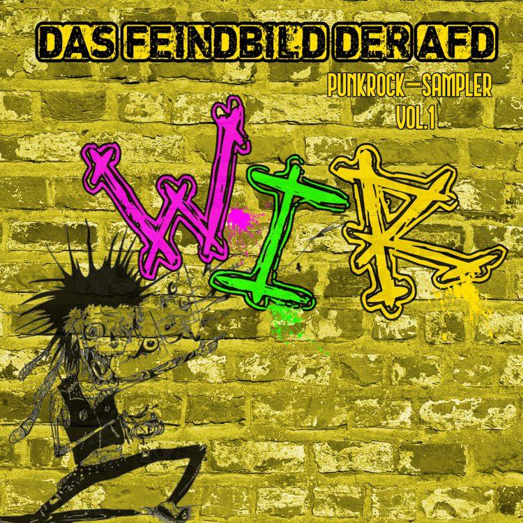 Das Feindbild der AFD - WIR Cover